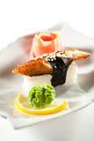 Smoked Eel Sushi Royalty Free Stock Images