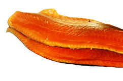 Smoked fish. Fresh smoked fish red colour stock photos