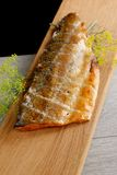 Smoked fish fillet Royalty Free Stock Photography