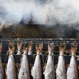 Smoked Fish Haddock Stock Photos