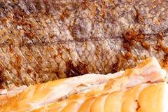 Smoked Fish Hake Fillet Stock Photos