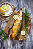 Smoked fish Royalty Free Stock Photos