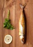 Smoked fish (mackerel) Stock Image