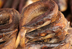 Smoked fish on sale Royalty Free Stock Photo