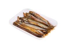 Smoked fishes Stock Photos
