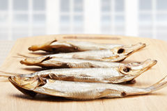 Smoked fishes Royalty Free Stock Image