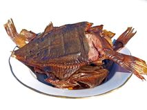 Smoked flatfish 2 Stock Photography