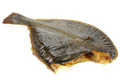Smoked flounder Royalty Free Stock Photo