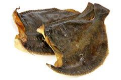 Smoked flounders Stock Photography