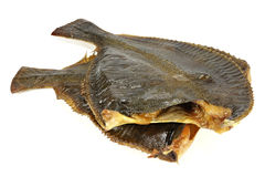 Smoked flounders Royalty Free Stock Photography