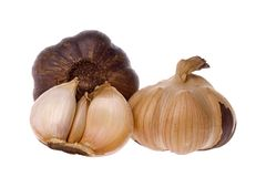 Smoked Garlic Stock Images