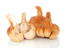 Smoked Garlic Cloves Stock Image
