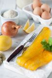 Smoked Haddock & kedgeree ingredients Stock Images
