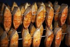 Smoked halibut. Royalty Free Stock Photos