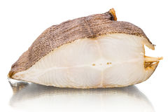 Smoked halibut Stock Photography