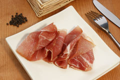 Smoked ham Royalty Free Stock Photos