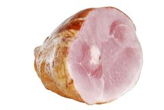 Smoked ham stock photography