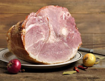 Smoked Ham Stock Photo