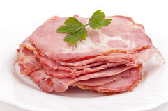 Smoked ham Royalty Free Stock Image