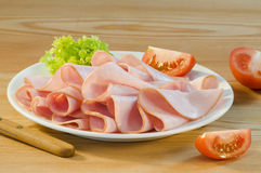 Smoked ham Royalty Free Stock Photo