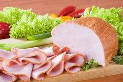 Smoked ham Stock Image