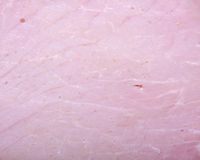 Smoked ham background closeup. Macro Royalty Free Stock Photo