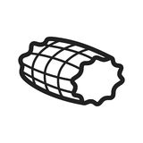 Smoked Ham. Ham, smoked, food icon vector image. Can also be used for european cuisine. Suitable for mobile apps, web apps and print media Stock Photo