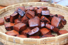 Smoked homemade soya soya Royalty Free Stock Photo