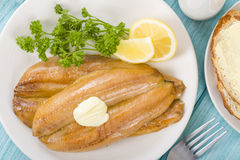 Smoked Kippers Royalty Free Stock Image