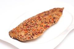 Smoked mackerel Royalty Free Stock Photos