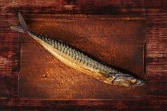 Smoked mackerel. Royalty Free Stock Images