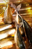 Smoked mackerel Stock Photo
