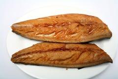 Smoked mackerel fillets Royalty Free Stock Photo