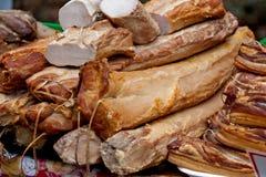 Smoked meat Royalty Free Stock Photos