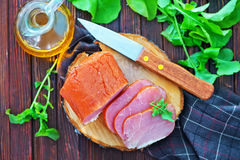 Smoked meat Stock Image