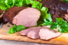 Smoked meat Royalty Free Stock Photo