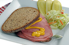 Smoked Meat Sandwich Stock Photo