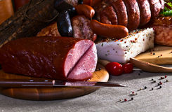 Smoked meat Stock Photos