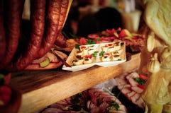 Smoked meats Royalty Free Stock Photo
