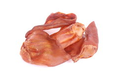 Smoked pig ears Stock Photography