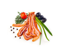 Smoked pig ears Stock Images