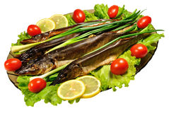 Smoked pike Royalty Free Stock Photo