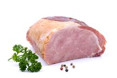 Smoked pork Royalty Free Stock Images