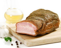 Smoked pork Stock Image