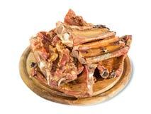 Smoked pork bone Royalty Free Stock Images