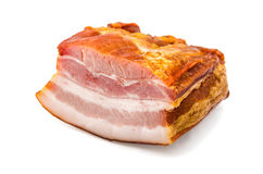 Smoked pork fat Royalty Free Stock Images