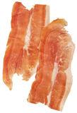 Smoked Pork Ham Prosciutto Slices Isolated on White Background  Royalty Free Stock Photos