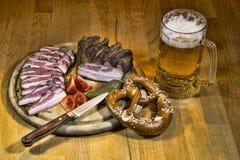 Smoked pork Stock Photo