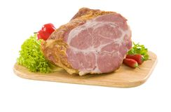 Smoked pork meat Stock Photos
