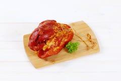 Smoked pork meat Royalty Free Stock Photos